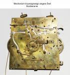 Mechanizm trzywagowego zegara Świt