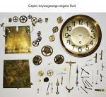 Części trzywagowego zegara Świt