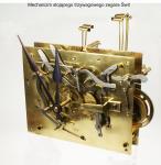 Mechanizm stojącego tzrywagowego zegara Świt
